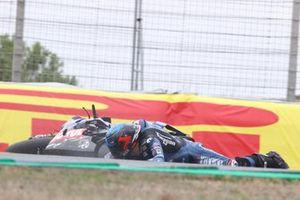 Sturz: Christophe Ponsson, Gil Motor Sport - Yamaha