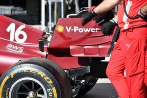 Ferrari SF21 rear wing detail