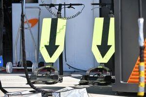 McLaren, pitstop equipment