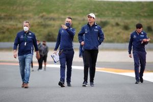 Nicholas Latifi, Williams FW43B track walk