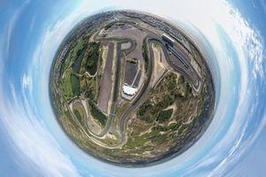 Zandvoort from the sky