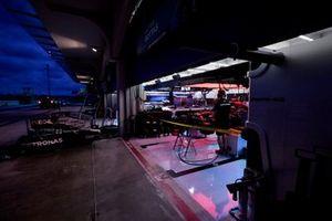 Mercedes garage pit lane