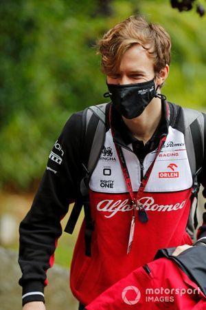 Callum Ilott, Alfa Romeo reserve driver