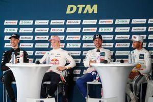 Kelvin van der Linde, Abt Sportsline, Liam Lawson, AF Corse, Maximilian Götz, Haupt Racing Team, Marco Wittmann, Walkenhorst Motorsport