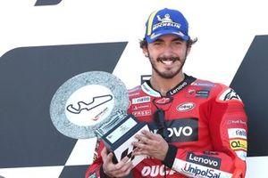 Race winner Francesco Bagnaia, Ducati Team MotoGP