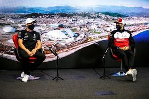 Valtteri Bottas, Mercedes en Antonio Giovinazzi, Alfa Romeo Racing