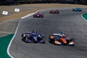 Скотт Диксон, Chip Ganassi Racing Honda, Ромен Грожан, Dale Coyne Racing with RWR Honda