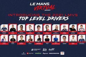 La liste impressionnante des participants au championnat d'endurance Esport comprend des stars du sport automobile et de l'Esport