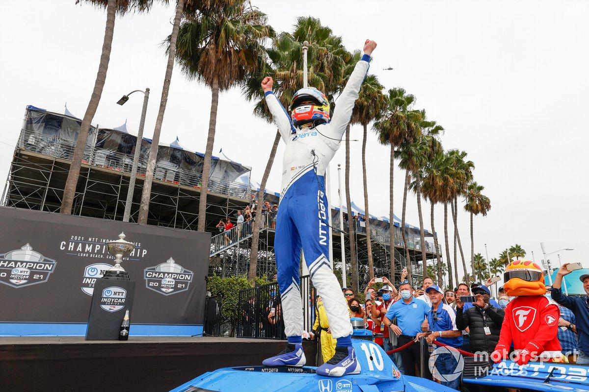 Champion Alex Palou, Chip Ganassi Racing Honda