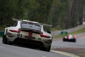 #91 Porsche GT Team Porsche 911 RSR - 19 LMGTE Pro de Gianmaria Bruni, Richard Lietz, Frederic Makowiecki