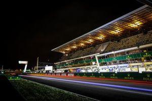 Track night action