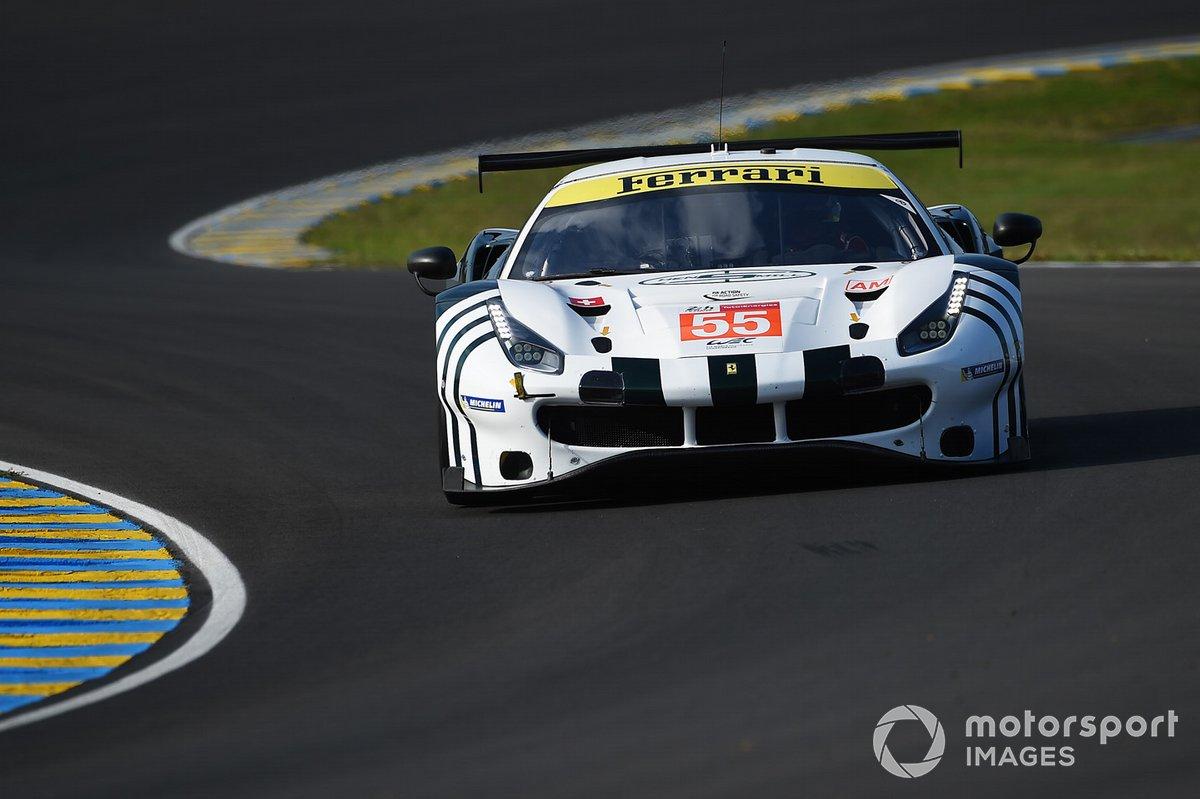 #55 Spirit Of Race Ferrari 488 GTE EVO LMGTE Am of Duncan Cameron, David Perel, Matthew Griffin