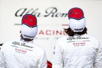 Antonio Giovinazzi, Alfa Romeo Racing, Kimi Raikkonen, Alfa Romeo Racing