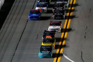 Johnny Sauter, ThorSport Racing, Ford F-150 and Grant Enfinger, ThorSport Racing, Ford F-150