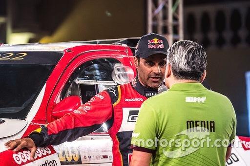 Nasser Al Attiyah y Matthieu Baumel