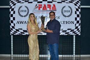 FARA MP4A Sprint Champion Robert Tanon
