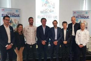 Press conference e-Prix Paris group photo