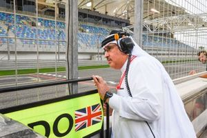 Шейх Мухаммед бин Эсса Аль Халифа, директор Совета экономическогор развития Бахрейна и совладелец McLaren