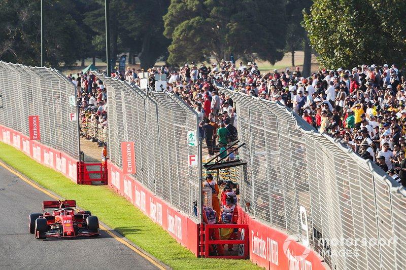 Charles Leclerc, Ferrari SF90 –Australia 2019–: 5º