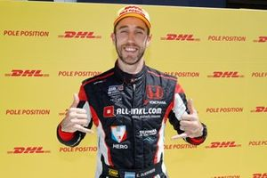 Pole sitter Esteban Guerrieri, ALL-INKL.COM Münnich Motorsport Honda Civic Type R TCR