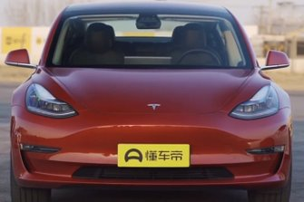 Tesla Model 3 on track in China