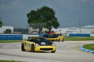 #9 MP4B Toyota MR2 driven by Michael Monsalve of Mikespeed Scuderia