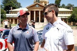 #888 Mercedes-AMG Team Vodafone Mercedes AMG GT GT3: Craig Lowndes, #42 BMW Team Schnitzer BMW M6 GT3: Chaz Mostert