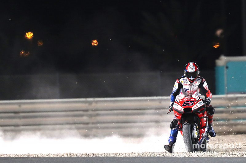 Francesco Bagnaia, Pramac Racing, va largo