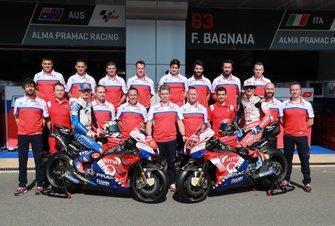 Jack Miller y Francesco Bagnaia, Pramac Racing