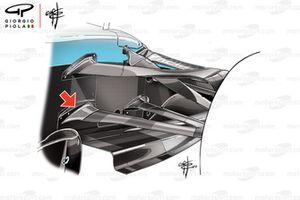 Williams FW42 legal wishbone