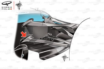Williams FW42 legal wishbone