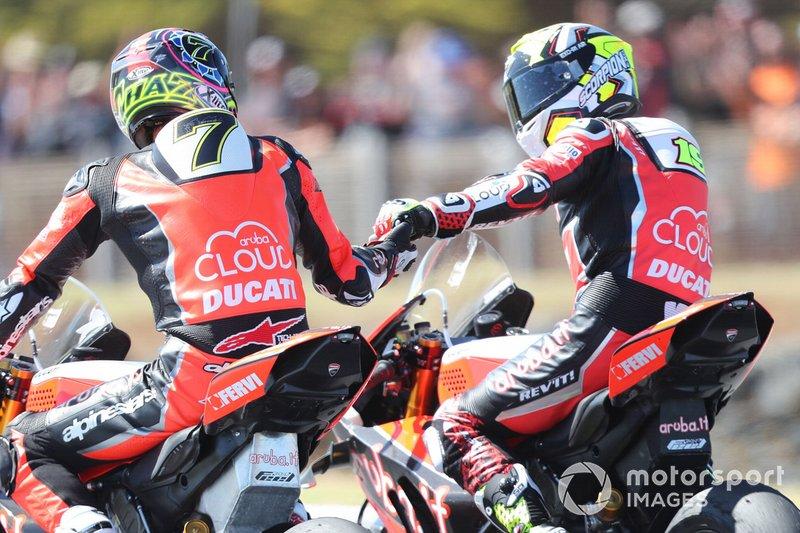 Чаз Девіс, Альваро Баутіста, Aruba.it Racing-Ducati Team