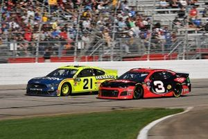 Paul Menard, Wood Brothers Racing, Ford Mustang Menards / MOEN, Austin Dillon, Richard Childress Racing, Chevrolet