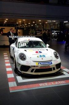 La Porsche di Simone Iaquinta, Ghinzani Arco Motorsport