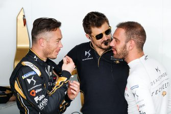 Andre Lotterer, DS TECHEETAH, in conversation with Jean-Eric Vergne, DS TECHEETAH