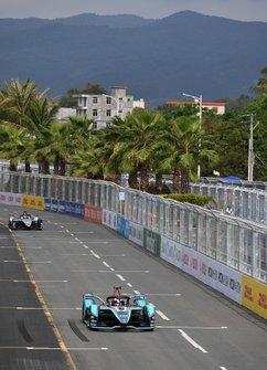 Mitch Evans, Panasonic Jaguar Racing, Jaguar I-Type 3, Oliver Rowland, Nissan e.Dams, Nissan IMO1