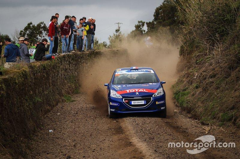 Yohan Rossel, Peugeot Rally Academy, Peugeot 208 R2