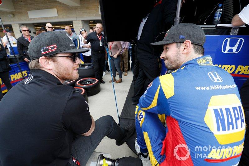 Alexander Rossi, Andretti Autosport Honda, Conor Daly