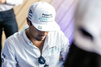 Nelson Piquet Jr., Panasonic Jaguar Racing at the autograph session