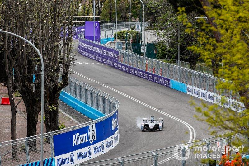 Felipe Massa, Venturi Formula E, Venturi VFE05 locks up