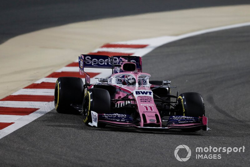 Sergio Perez - Racing Point: 8 puan