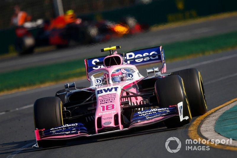 18 місце — Ленс Стролл (Канада, Racing Point) — коефіцієнт 2001,00