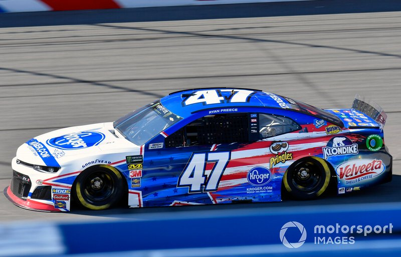 26. Ryan Preece, JTG Daugherty Racing, Chevrolet Camaro Kroger