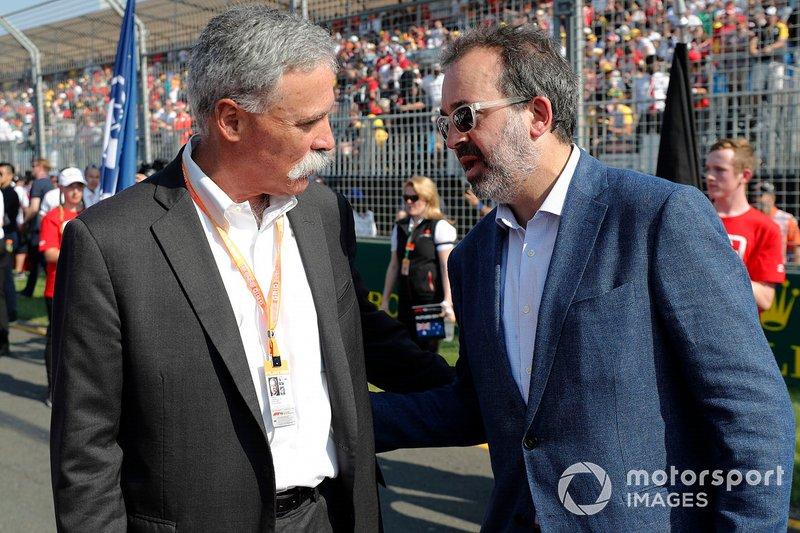 Гран При Австралии: министр спорта Мартин Пакула (справа)