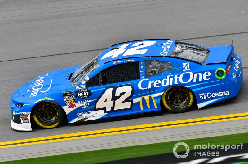 26. Kyle Larson, Chip Ganassi Racing, Chevrolet Camaro Credit One Bank