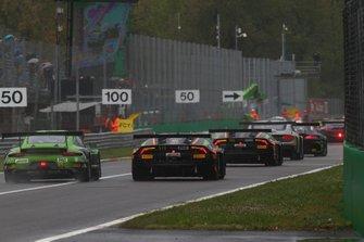 Acción de carrera en Monza