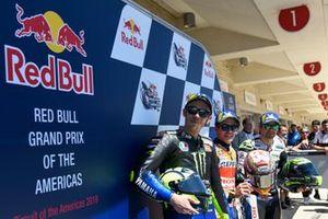 Марк Маркес, Repsol Honda Team, Валентино Росси, Yamaha Factory Racing, Кэл Кратчлоу, Team LCR Honda