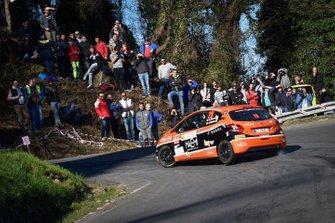 Davide Nicelli, Alessandro Mattioda, Peugeot 208 R2, La Superba