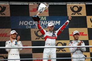 Podium: Race winner René Rast, Audi Sport Team Rosberg, second place Marco Wittmann, BMW Team RMG, third place Mike Rockenfeller, Audi Sport Team Phoenix
