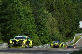 #14 AIM Vasser Sullivan Lexus RC F GT3, GTD: Richard Heistand, Jack Hawksworth, #12 AIM Vasser Sullivan Lexus RC F GT3, GTD: Frank Montecalvo, Townsend Bell